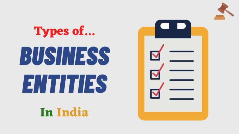 8 Types of Business Entities In India | Company Types In India |